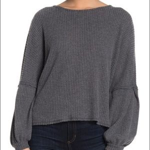 ABOUND Open Back Cozy Pullover Sweater